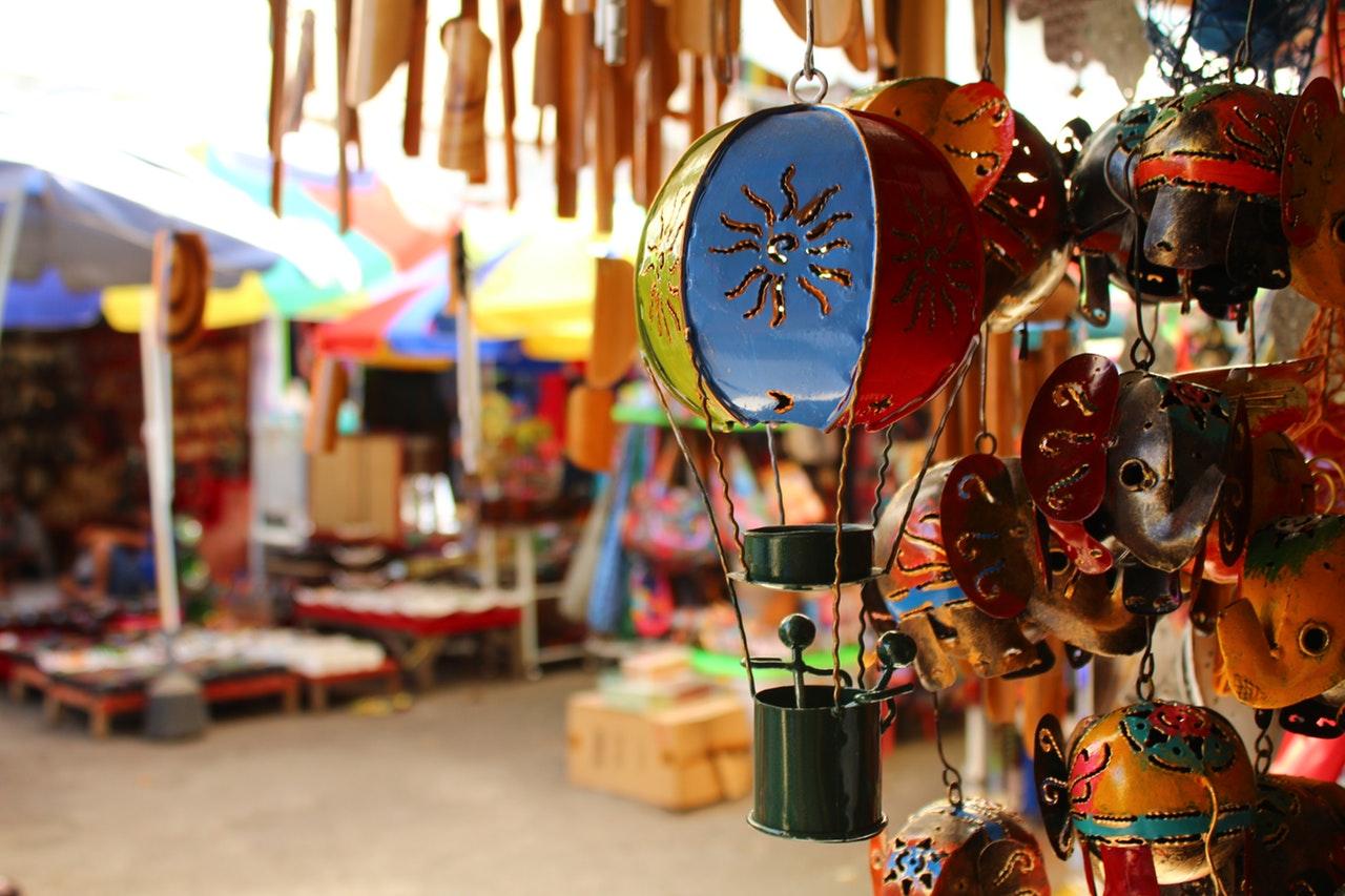 Bali Indonesie markt