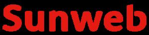 vliegen vanaf eelde sunweb logo