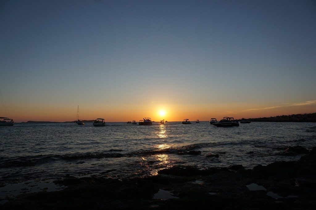 Sant Antonio Ibiza zonsondergang