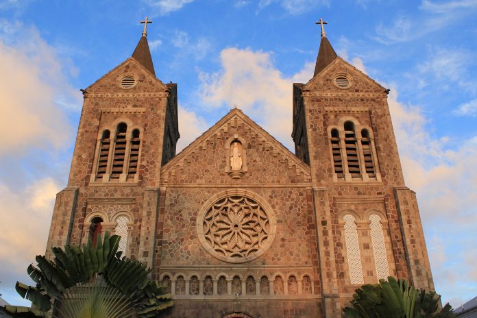 Kerk saint kitss spiritueel
